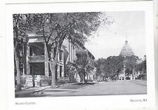 """+""""Second Capital"""" (destroyed/Fire/1904)   *Madison, Wisconsin ~Post Card-"""