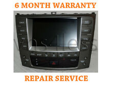 2006-2013 LEXUS IS250 IS350 GPS NAVIGATION TOUCH SCREEN REPAIR SERVICE!