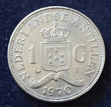 1 Gulden 1970 Juliana Netherlands Antilles KM#12