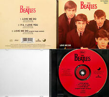 "BEATLES *VG+* ""LOVE ME DO (3 VERS w/ORIG SINGLE MIX"" 1992 US CD MAXI-SINGLE"