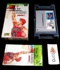SLAM DUNK FROM TV ANIMATION SlamDunk Super Famicom Nintendo SFC SNES Jap Bandai