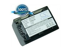 7.4V battery for Sony DCR-DVD310E, HDR-UX5E, HDR-UX9E, DCR-DVD703E, HDR-CX12, DC