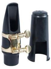 Elite Tenor Saxophone Mouthpiece Kit - 4c Mouthpiece, Nickel Ligature and Cap