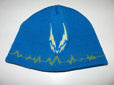 Cyberdog Cyber dog blue electric beanie hat with reflective logo