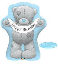 "Me To You Tatty Teddy Happy Birthday 35"" Qualatex Supershape Foil Balloon"