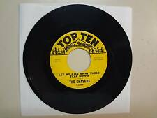 """CHASERS: Let Me Kiss Away Those Tear Drops-Unchain My Heart-U.S. 7"""" 1967 Top Ten"""