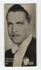 Swedish Marabou Rollo Chocolate Film Star card circa 1930 #88 Chester Morris