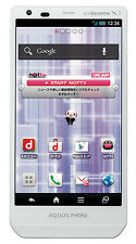 Sharp Aquos Zeta SH-02E Unlocked GSM 3G Quad-Core 16.3MP Phone - White - New