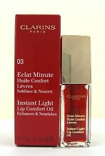 Clarins Instant Light Lip Comfort Oil  Shade 03 Red Berry 7ml  New & Boxed