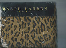 Ralph Lauren Aragon Guinevere Leopard Queen Flat Sheet New 1st Quality
