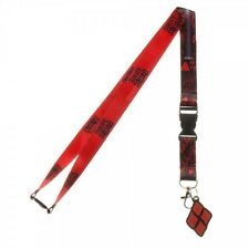 Authentic DC COMICS Harley Quinn Suicide Squad Lanyard ID Holder NEW