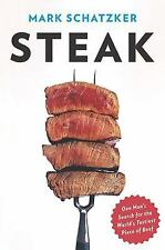 Steak: One Man's Search for the World's Tastiest Piece of Beef-ExLibrary