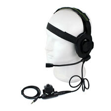Z Tactical Bowman Elite II HD01 auriculares + 1 Pin 3.5mm U94 PTT para teléfono