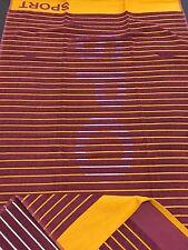 Telo sportivo 70x130 Teli sauna Asciugamani da bagno arancione/bordeaux