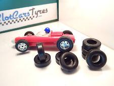 8 URETHANE tyres  F2 SCALEXTRIC 60's- UK