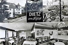 21773 AK Hardheim Café Dietz am Schloß Innenraumansichten Schloß Brücke um 1975