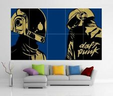Daft Punk Get Lucky Random Access Memories Gigante Pared Arte Foto Cartel j183