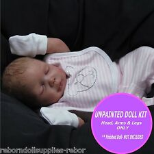 REBORN KIT ~ Soft Vinyl doll kit to make your own baby~ Bella unpainted kit