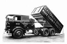 rp17702 - Derby Council Transport Dept Foden Tipper Lorry - photograph 6x4