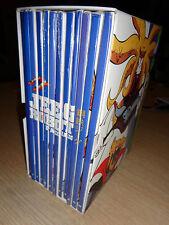 BOX COFANETTO 12 DVD JEEG ROBOT D'ACCIAIO GAZZETTA DELLO SPORT