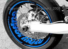 Wheel Sticker Supermoto Husqvarna SM SMR FS TE 125 450 511 610 630