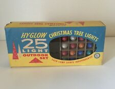 Vintage Christmas Lights Replacement Bulbs With Box 25 Total