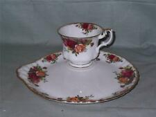 Royal Albert Old Country Roses TV Tennis Set Tea Cup & Circular Buffet Plate