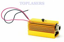 Focusable 200mw 808nm Infrared IR Laser Diode Module DC5V Dot Unit w/ Heatsink