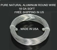 BONSAI WIRE 1 MM 100 ft Pure Aluminum Wire (DEAD SOFT)