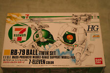 GUNDAM RB-79 BALL TWINS  SEVEN ELEVEN LTD EDITION 1/144 scale PLASTIC MODEL KIT