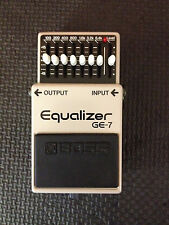 Boss Ge-7 Equalizer Guitar Effects Pedal (1991) MADE IN JAPAN
