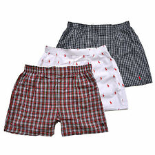 Polo Ralph Lauren Boxers Mens Classic Fit Woven 3 Pack Underwear New Nwt Three