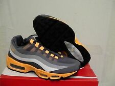 Nike Air Max 95 No Sew Dark Grey/Orange Mens Running size 10