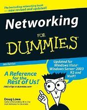 Networking For Dummies (For Dummies (Computers)), Lowe, Doug, Good Book