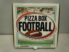 PIZZA BOX FOOTBALL Board Game 2006 VINTAGE Family SEMI-COMPLETE On The Line