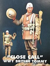 "Jaguar Models 1/16 ""Close Call"" WWI British Tommy"" (Resin Figure) - 61612"