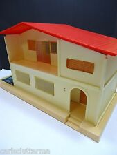 Vintage 1980 Blue Box Miniature Dollhouse Missing Pieces VHTF Plastic 1980s RARE
