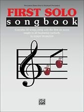 First Solo Songbook: Percussion (Snare Drum & Keyboard Percussion), , .,, Feldst