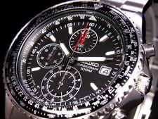 Seiko Cronógrafo Hombre Reloj SND253P1 Garantía, Caja