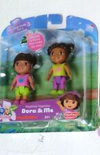 Dora Family Figures Explorer playtime Together Dora me friends brown hair