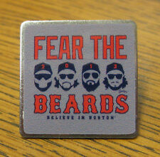 FEAR THE BEARDS Believe in Boston Red Sox Baseball Pin World Series 2013 W.S.