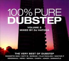 100% Pure Dubstep, Vol. 2: Mixed by DJ Hatcha by DJ Hatcha (CD, Oct-2011, 3...