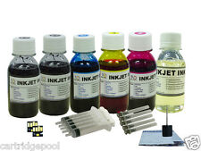 6X4oz/s Refill ink kit for Kodak 10 : ESP 7250 9 9250 Office 6150 printer +2Chip
