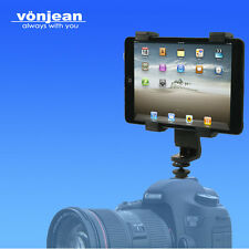 vonjean VCT-8116 Flash Hot Shoe Mount holder for Apple ipad mini tablet pc DSLR
