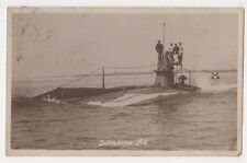 Royal Navy Submarine A2, 1914 RP Postcard, B607
