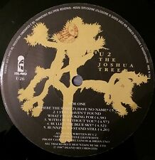 U2 The Joshua Tree LP  Italian Version Rare