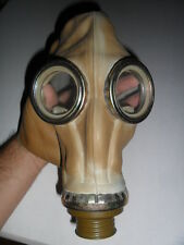 Vintage Soviet USSR Rubber Gas Mask for Scary Decoration Monster Horror