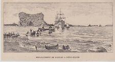 1902  --  EMBARQUEMENT D EBUFFLES A DIEGO SUAREZ   3H063   madagascar