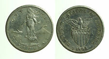 pcc1131_3)  FIILIPINAS (Filippine)   1 Peso 1908   Silver