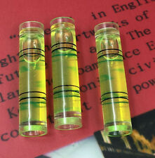 Digital Inclinometer Spirit Level Bubble-Tube Vial Gradienter Green 6 pcs